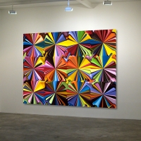 Mark Engel - Starburst Field - Smarties 01 (instalation shot) (2014)
